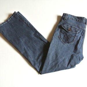 Lee Jeans Slender Secret Lower on Waist 8 Short
